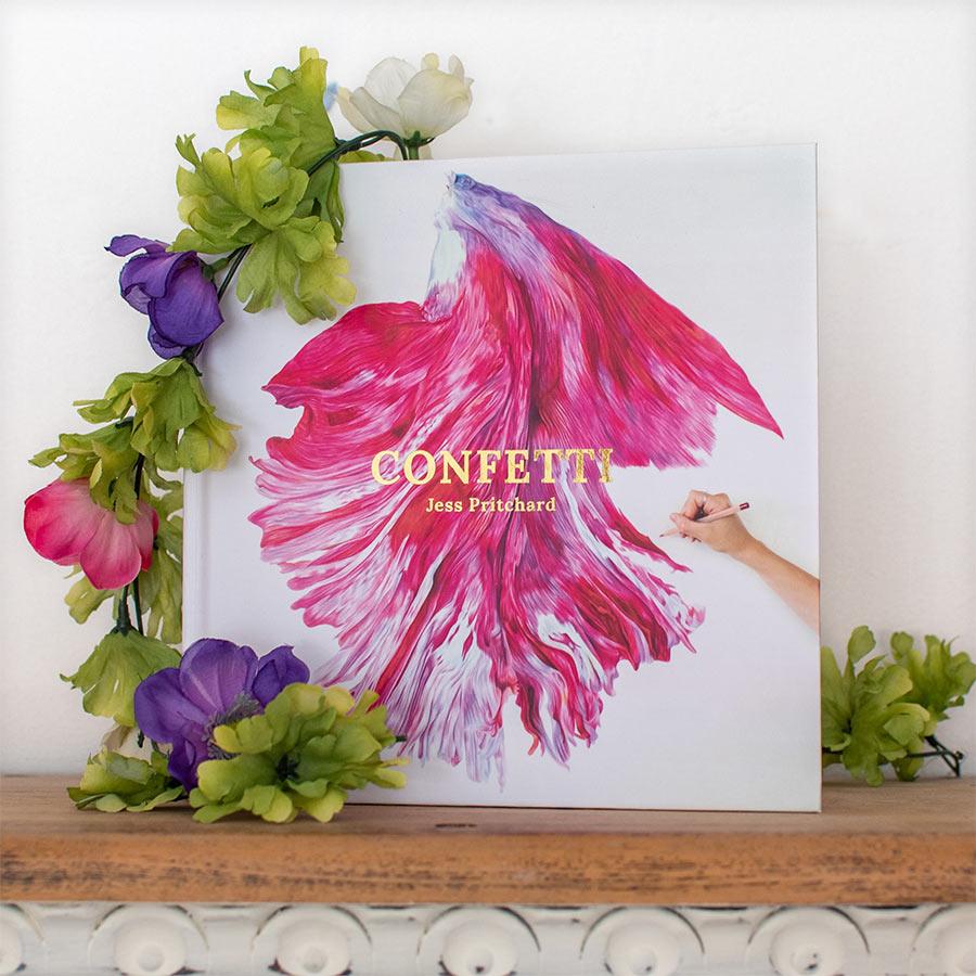 Confetti Book (Preorder) - Preview image  British Wildlife Art