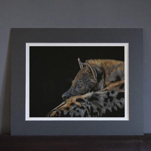 British Wildlife - A Matriarch's Twilight Print