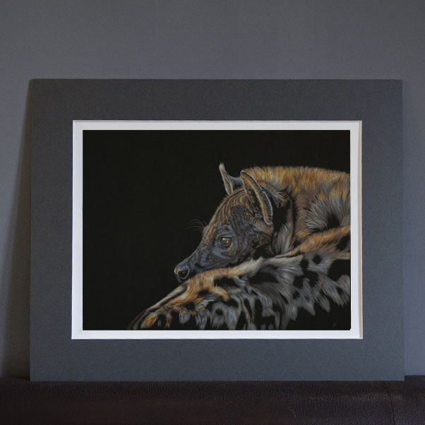 British Wildlife - A Matriarch's Twilight Print