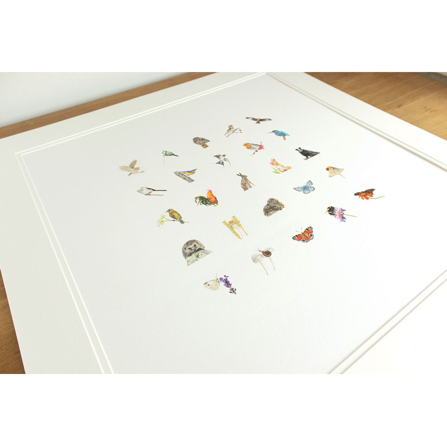 British Wildlife Miniatures print thumbnail 4