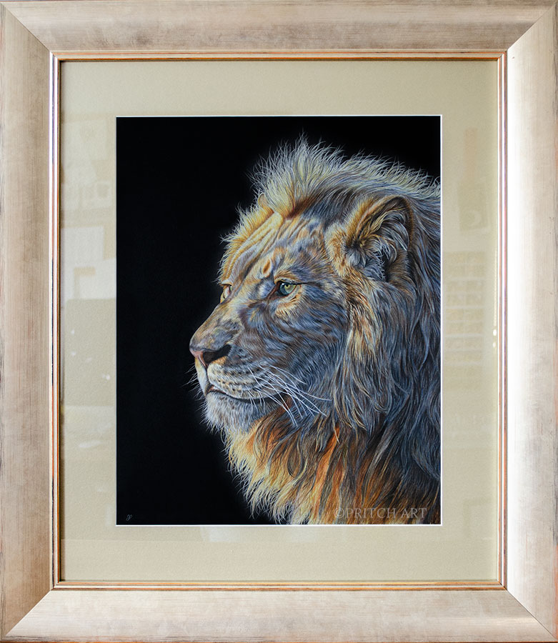 Dawn of the King - Preview image  British Wildlife Art