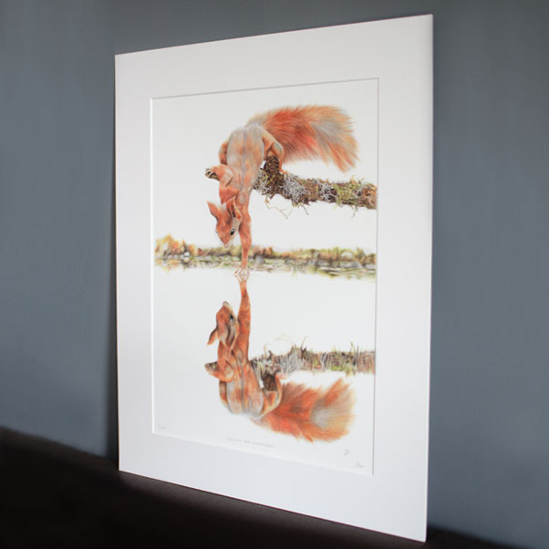 Touching the Looking Glass Print thumbnail 2