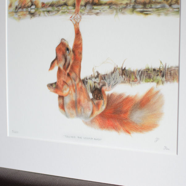 Touching the Looking Glass Print thumbnail 3