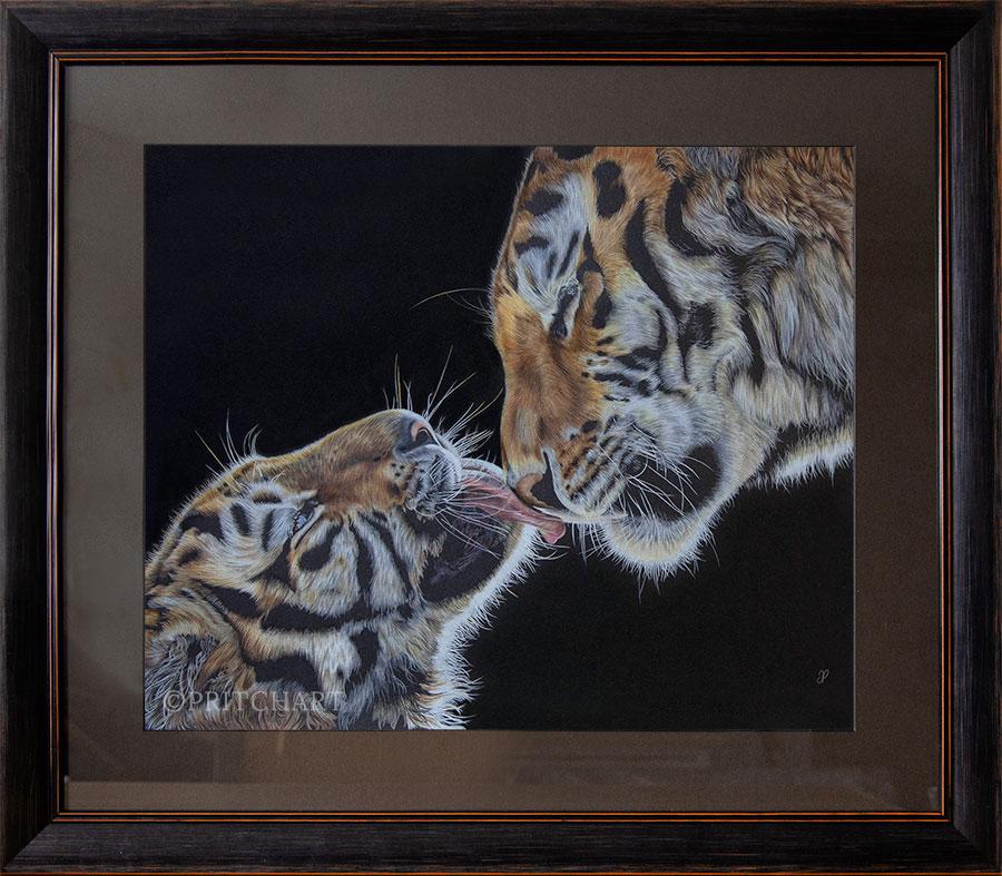 An Unbreakable Bond - Preview image  British Wildlife Art