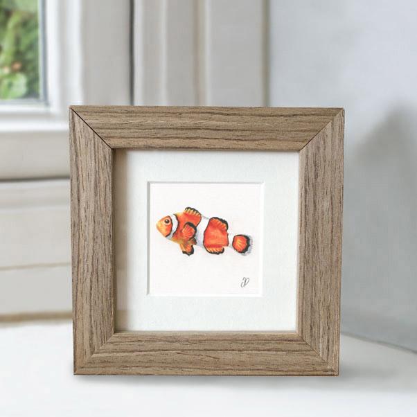 Clownfish - Preview image  British Wildlife Art