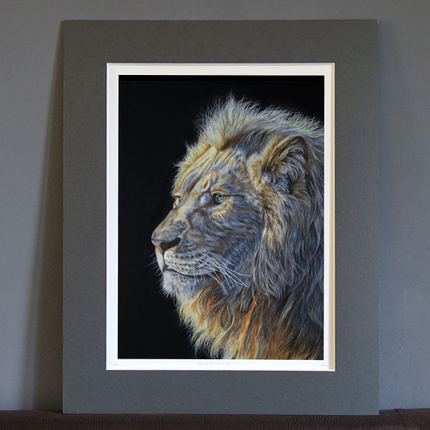 British Wildlife - Dawn of the King print