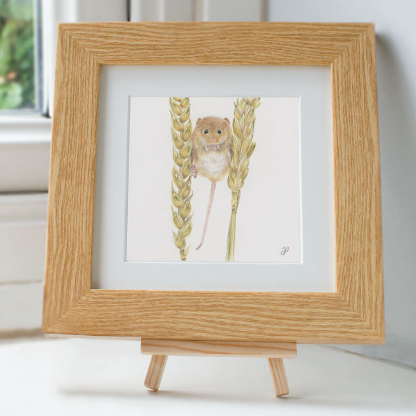 Field Mouse - Preview image  British Wildlife Art