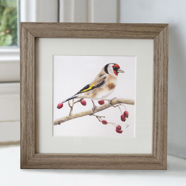 Goldfinch - Preview image  British Wildlife Art