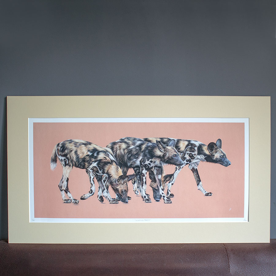 British Wildlife - Hunting Party Print