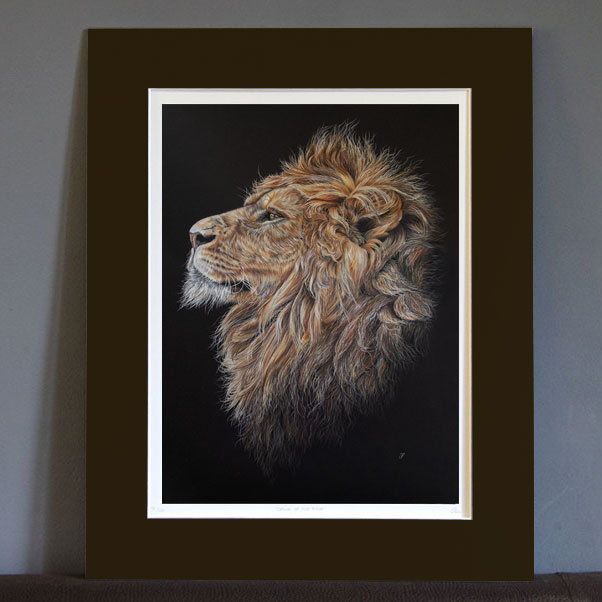 British Wildlife - Portrayal of Pride Print