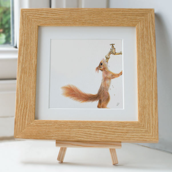 Red Squirrel - Preview image  British Wildlife Art
